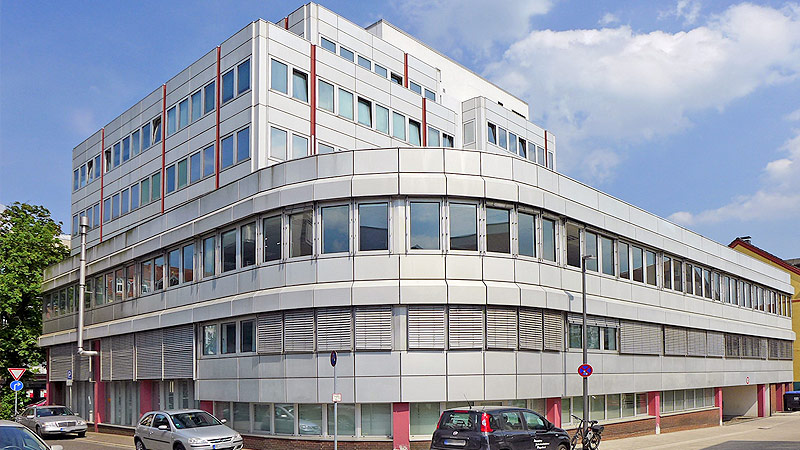 Office and commercial building in Recklinghausen marketed
