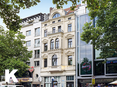 Office and commercial building near Cologne's pedestrian zone