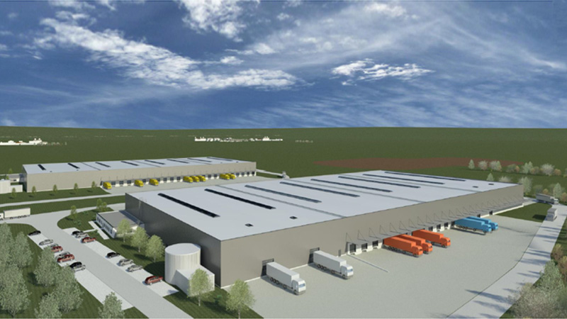 New logistics construction project in Meerane near Zwickau marketed