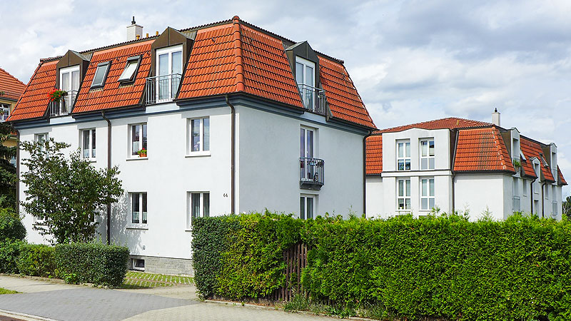 Residential complex in Dresden-Cossebaude marketed to private investor