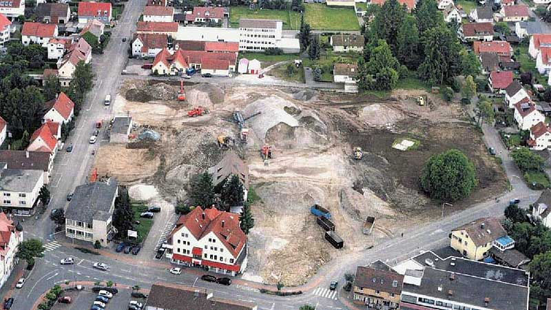 Quarter development in Mössingen