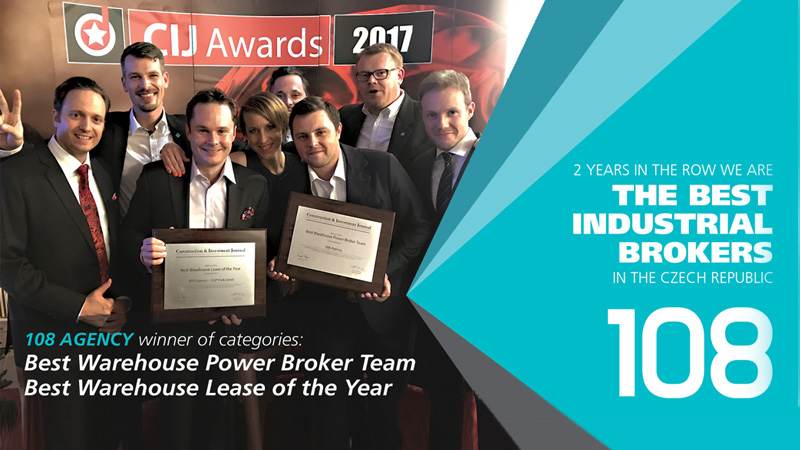 THE BEST INDUSTRIAL BROKERS Award 2017