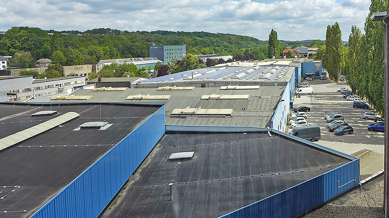 Industrial park near Wuppertal marketed