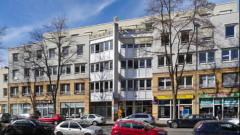 2 office and commercial buildings in Chemnitz