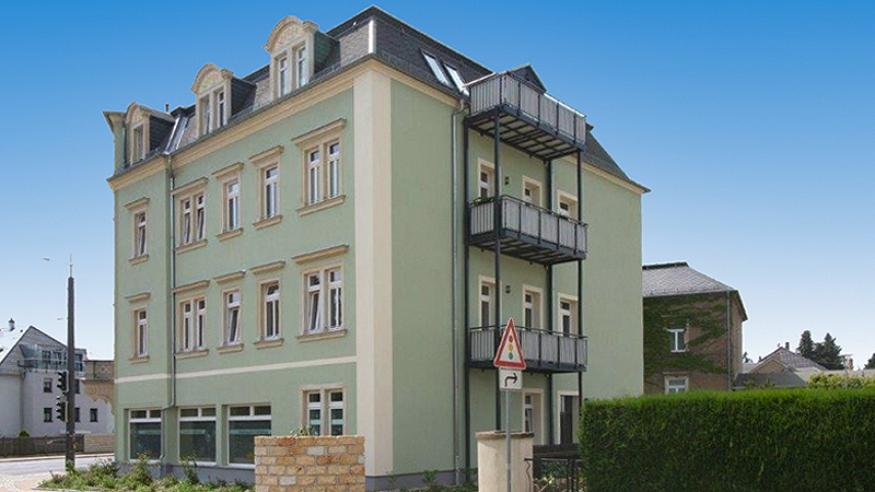 Transaction of a residential and commercial building in Radebeul